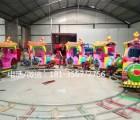 儿童游乐场室外设备轨道火车 广场大型儿童新玩具娱乐设备电动车