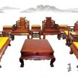 老挝红酸枝沙发大师精雕满雕 工艺精湛交趾黄檀家具