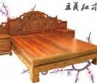 在山东泰安买一台缅甸花梨大床问问有没有收藏价值王义红木家具