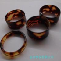 塑胶饰品 树脂戒指