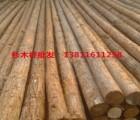 8米电力防护杉木杆海量批发