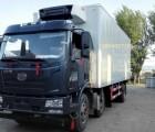 解放J6道依茨整压发动机冷冻冷藏挂肉车底盘厂家直销