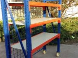 中山物料架带脚轮可手推移动货架中山物料架
