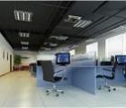 深圳石岩厂房装修公司 轻质砖隔墙吊顶 办公室铺地毯