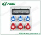 工业防水手提式插座箱检修开关插座箱便携式组合插座箱插头户外用