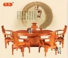上海家具城-刺猬紫檀家具-茶桌图片