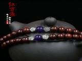 印度小叶紫檀佛珠手串108颗念珠手链小叶紫檀礼品手串紫玉款