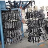 铝制品专用抛丸机,铜件、铝件吊钩式抛丸机