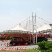 三门峡充电站罩棚膜结构张拉膜充电站设计电动汽车充电站