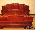 明清古典红木双人床价格走势  大红酸枝家具如何保养