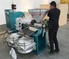 100型油菜籽螺旋榨油机出油率突破每小时可榨600斤以上