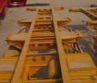 13米3桥凹梁低平板半挂车【出厂】报价