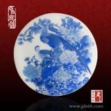 陶瓷青花桌面