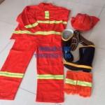 消防员胶靴 消防员战斗靴