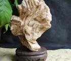 马来西亚沉香摆件收藏品 乳香黄油结沉香山子原木摆件工艺品木雕