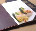 高档menu菜谱印刷装订-高档餐牌印刷装订-菜牌装订商务服务