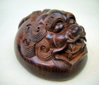 印度小叶紫檀手玩件雕件 大号貔貅工艺品手把件M72号吉祥瑞兽
