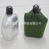 七八式水壶耐高温铝制水壶户外野营水壶带餐盒水壶