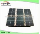 供应120W高效太阳能折叠充电包