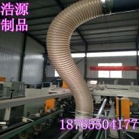 PU钢丝伸缩管钢丝伸缩抽吸管镀铜钢丝PU管
