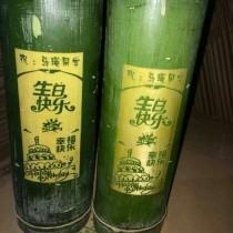 金竹竹酒生态原生态活竹竹筒酒加盟代理多少钱