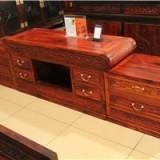 王义红木家具 老挝大红酸枝电视柜 实木电视柜 仿古红木家具