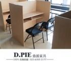 重庆课桌椅单人学生课桌椅 新款方管课桌椅儿童长方学习实木课桌