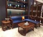 刺猬紫檀拐角沙发 新中式家具价格 款式大全