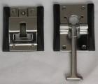 厢式货车车厢配件门风钩T型锁钩不锈钢锁
