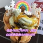 夏天热门项目创业风险低冰淇淋甜筒加盟店投资少利润大