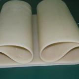 硅胶输送带,600型自封袋制袋机耐磨耐高温环形硅胶皮带