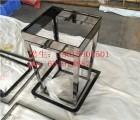 数码影楼不锈钢异型相框定制款 不锈钢玫瑰金圆形画框