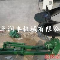 山区植树造林挖坑机  便携式挖坑 大型手推式钻坑机