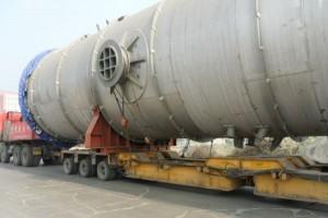 大件超限特种货拖运大件框架青岛港进出口车队集装箱陆运拖车业务