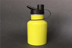 深圳铝制水壶 500ML铝制水壶 铝运动水壶 美式大口水壶