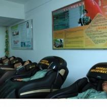 西安荣康实体店三军仪仗队专用按摩椅领导人送老挝领导人