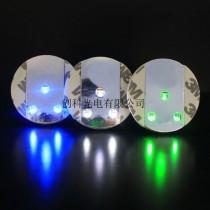 酒吧装饰LED超薄闪光杯贴 创意酒杯垫 可定制logo