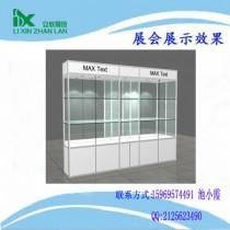 展架展柜玻璃柜玻璃展示架定制展柜柜台射灯配件模型陈列柜钛合金图片