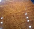 北京现货自然边巴花大板会议桌 原木大板写字台  实木大板茶桌