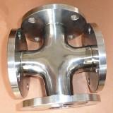 陕西Φ273*3卫生级焊接四通整改