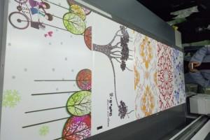 装饰板材浮雕印刷机 立体3D打印平板uv 理光工业喷头产能高