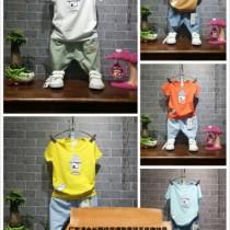 老挝厂家直批童装批发1-5元纯棉几块钱2-8岁中小童童装批发