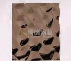 博饰钢业304玫瑰金不锈钢水波纹装饰板,厂家直销,价格实惠