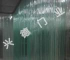 批发定做新型PVC透明软门帘商场超市专用