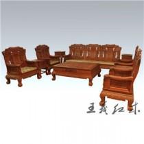 哈尔滨中式仿古缅甸花梨沙发  明清风格  实木家具的理想选择