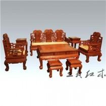 威海中式仿古缅甸花梨沙发  明清风格  别具一格
