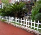 塑钢草坪护栏 PVC花园护栏 塑钢护栏 塑钢围栏