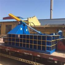 河南隆科800*900型环保旧油漆桶压块成型机