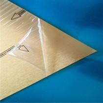 厂价供应彩色拉丝铝板 压花镜面铝板 锤纹斑马纹 覆膜 分切