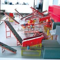300MW汽轮发电机组模型